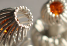anemones - parametric jewelry (3d printing)